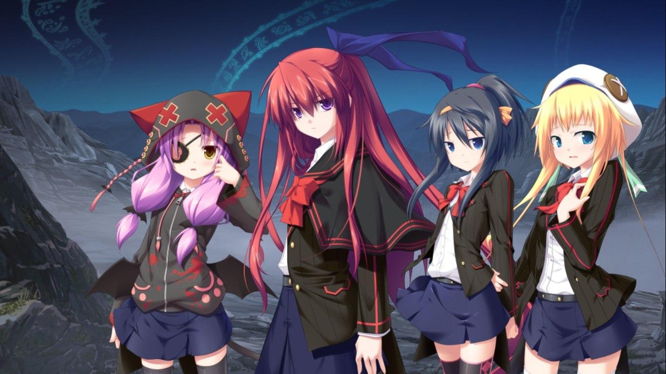 Картинки аниме девушки группы